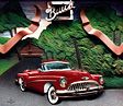 '53 Buick Skylark Bas relief art, by Garry K. Williams